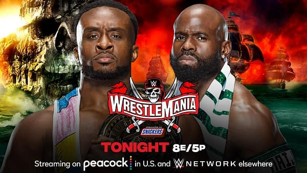 Match Graphic for Big E vs. Apollo Crews Championship at WrestleMania 37 Night 2