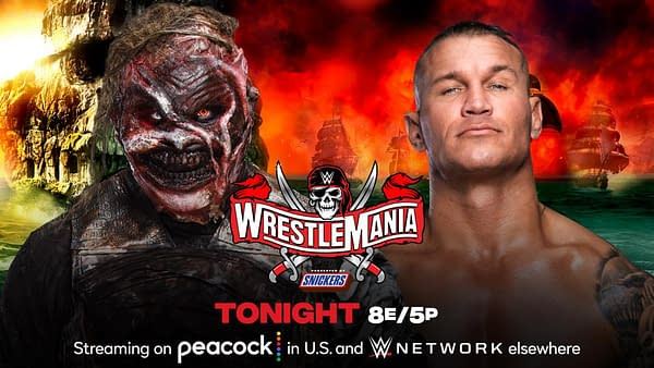 Match Graphic for The Fiend vs. Randy Orton at WrestleMania 37 Night 2