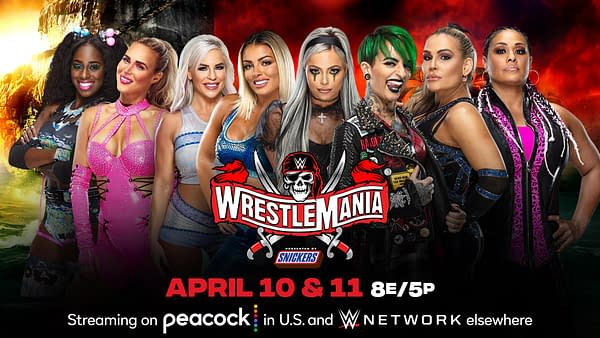 All the women with nothing better to do will compete in a Tag Team Turmoil match at WrestleMania for a shot at the Women's Tag Team Championships