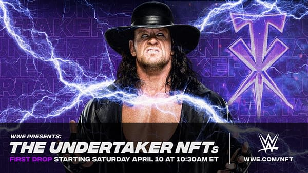 The Undertaker NFTs from WWE are going to make The Chadster a very rich man.
