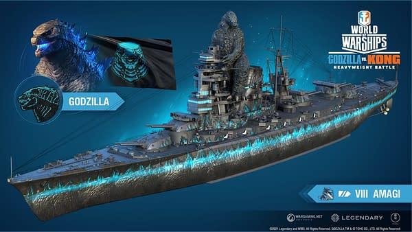 A look at the Godzilla ship, courtesy of Wargaming.