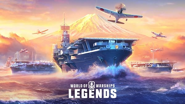 Are you ready for aircraft carriers in World Of Warships: Legends? Courtesy of Wargaming.