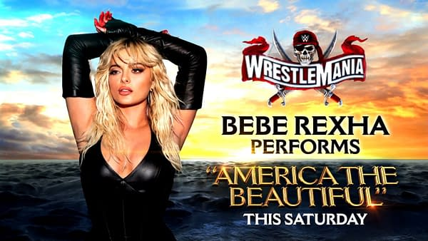 Bebe Rexha will perform America the Beautiful at WrestleMania this year.