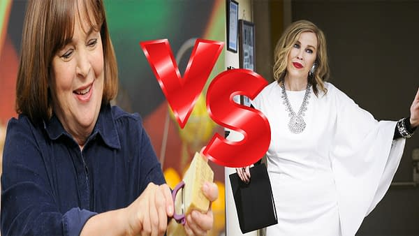 Moira Rose & Her Crows Attack The Barefoot Contessa: Nonsense Battle