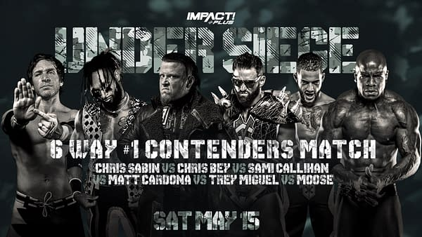 The next contender for Kenny Omega will be decided at Impact Wrestling's Under Siege Impact Plus special