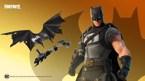 I am the night! I am sleeveless! I, am, Batman! Courtesy of Epic Games.