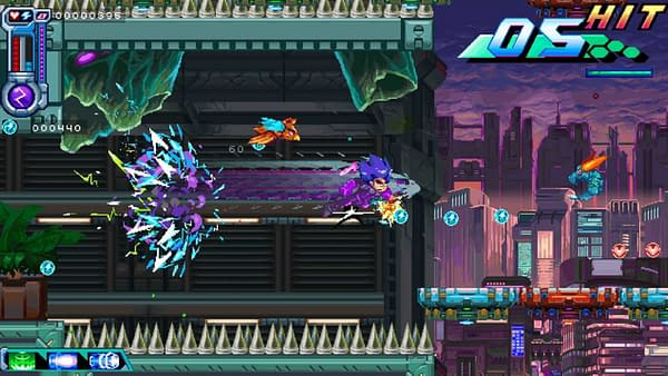 A screenshot from Berserk Boy, an indie action-platformer from BerserkBoy Games and Big Sugar. This game is slated to be released in Q4 of 2022.