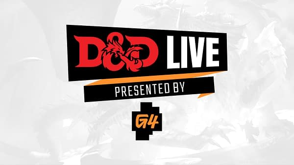 D&D Live 2021 comes to G4 this July! Courtesy of G4.
