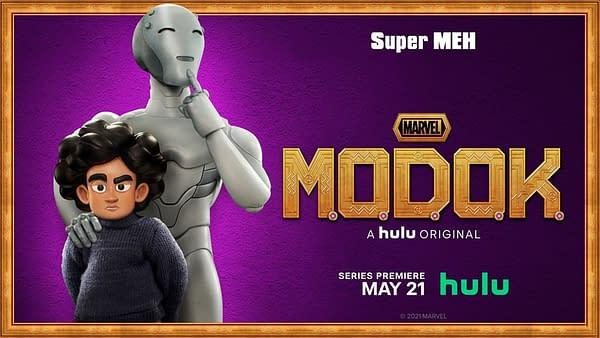 Marvel's M.O.D.O.K. Intros Metallic Menace's Super Dysfunctional Fam