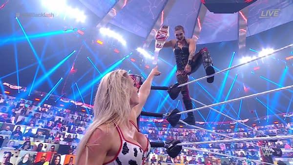 Did Cruella DeFlair Win the Women's Title at WrestleMania Backlash?