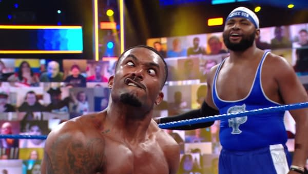 Oh come on, Montez Ford! WWE Smackdown wasn't *that* bad this week! Okay, maybe it was.