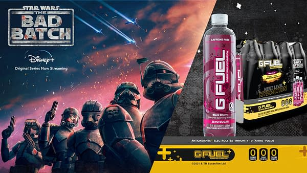 Guys, I found a new drink at the Bespin 7-11. Courtesy of G Fuel.