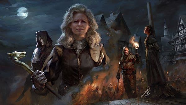 Promo art for Price Of Power, courtesy of CD Projekt Red.