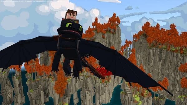 Now I can train a dragon in Minecraft Dungeons, kinda. Courtesy of Mojang.