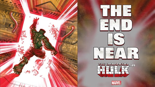 And Now An Alex Ross Look At The Penultimate Immortal Hulk #49