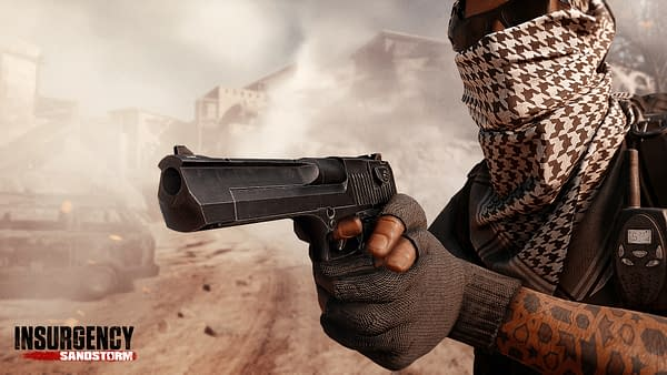A couple new weapons to choose from in Insurgency: Sandstorm, courtesy of Focus Home Interactive.