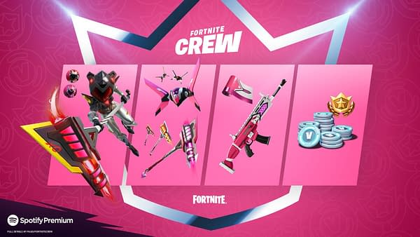 Fortnite Releases The New Crew Pack – Mecha Cuddle Master