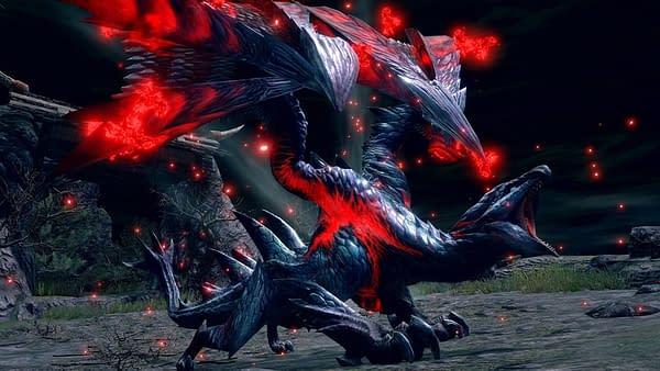 A look at the Crimson Glow Valstrax, courtesy of Capcom.