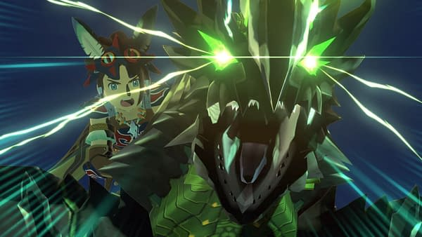 Stare into the eyes of Astalos in Monster Hunter Stories 2: Wings Of Ruin, courtesy of Capcom.
