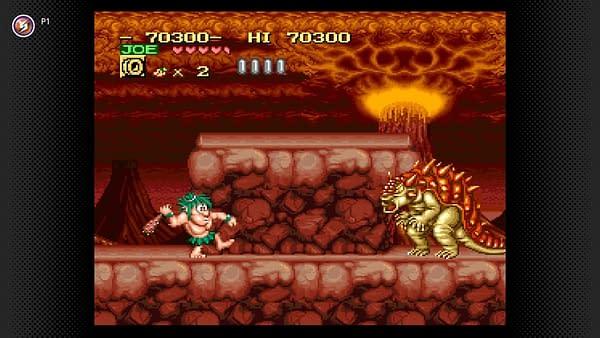 Caveman Ninja joins the list of SNES titles on Nintendo Switch Online, courtesy of Nintendo.