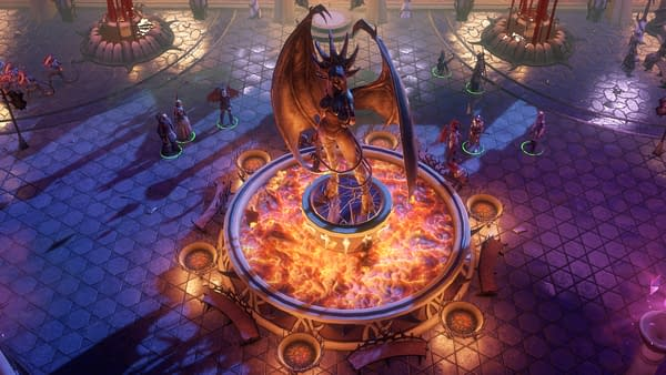 A screenshot from the second Beta for Owlcat Games' RPG Pathfinder: Wrath of the Righteous, releasing for PC via Steam and GOG on September 2nd.