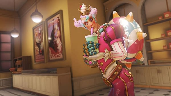 It's not really a party without a celebratory smoothie, courtesy of Blizzard Entertainment.