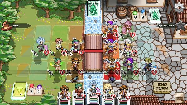 A look at an intense battle sequence in the game, courtesy of Level 99 Games.