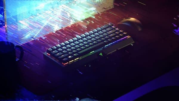 A look at the BlackWidow V3 Mini HyperSpeed, courtesy of Razer.