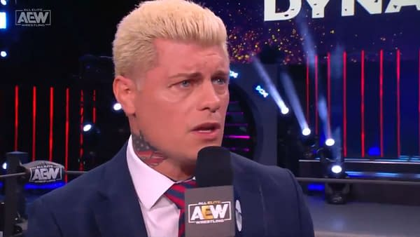 Cody Rhodes nearly breaks down with guild after stealing the American Dream trademark from WWE on AEW Dynamite