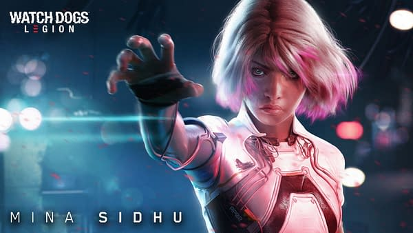 A look at the new hero character, Mina Sidhu, courtesy of Ubisoft.