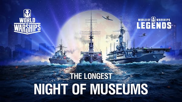Promo art for The Longest Night of Museums, courtesy of Wargaming.