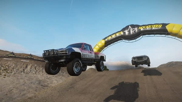 A look at one of the new trucks in action in Wreckfest, courtesy of THQ Nordic.