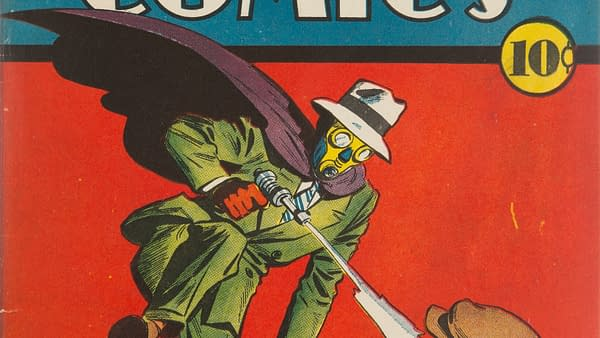 Adventure Comics #46 featuring a Sandman cover by Creig Flessel, DC Comics, 1940.