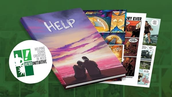 Help -  A Comic Book Kickstarter To Benefit The Hero Initiative