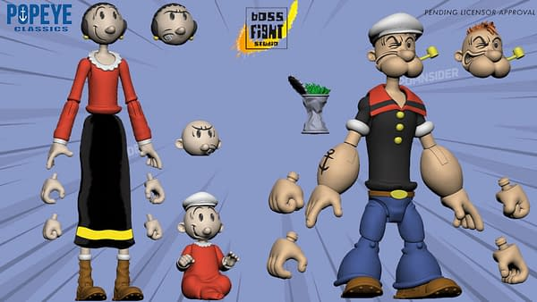 Boss Fight Studio Reveals Closer Look At Upcoming Popeye Figure