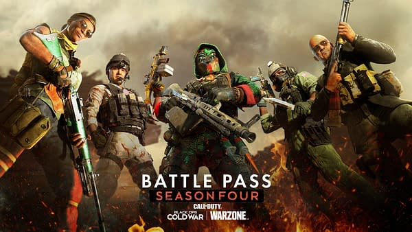 The next Call Of Duty battle pass will light a fire under you for more than one reason. Courtesy of Activision.