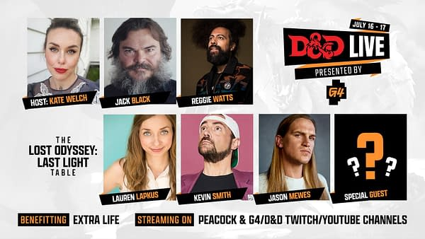 D&D Live 2021 Announces First Celebrity Dungeons & Dragons Game