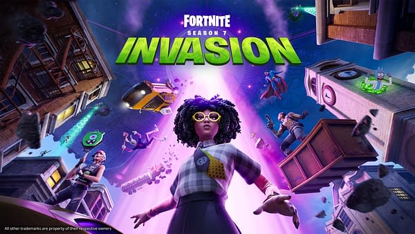 The invasion... has begun! Courtesy of Epic Games.