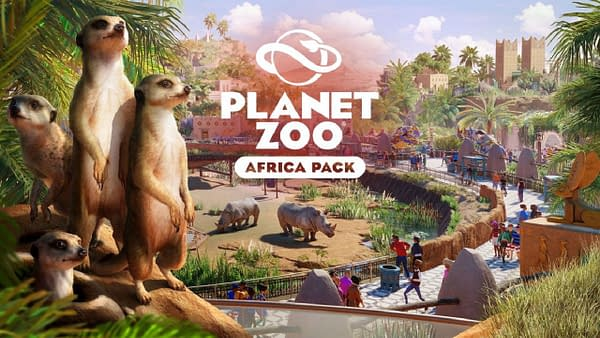Planet Zoo Will Be Getting The Africa Pack On Tuesday
