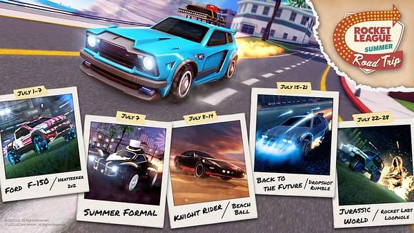 Rocket League Summer Road Trip Returns On July 1st