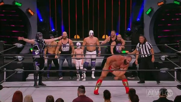 Miro is about to cuck the entire Dark Order on a very WWE edition of AEW Dynamite