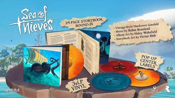 Sea Of Thieves Gets Triple Vinyl Soundtrack