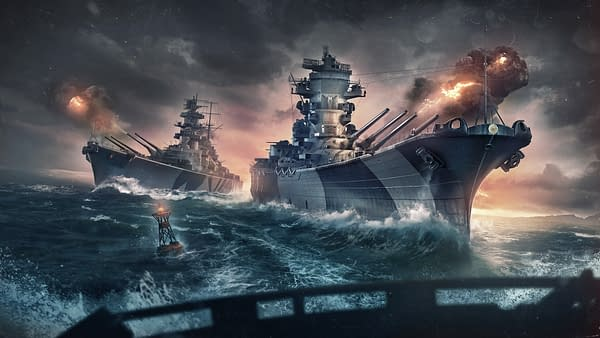There's a massive battle coming... Courtesy of Wargaming.