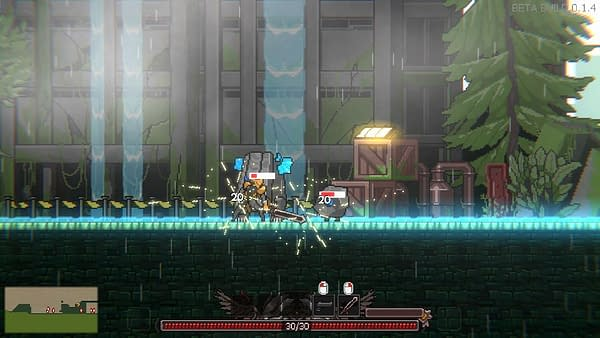 A screenshot from Metal Unit, a game by indie developer JellySnow Studio and publisher NEOWIZ.