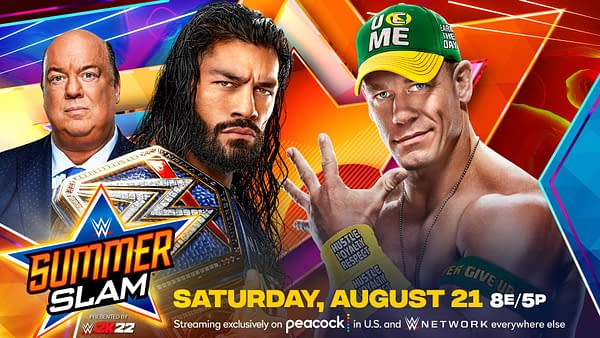 John Cena and Roman Reigns Make it Official for SummerSlam