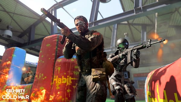 Paintball makes its way into Call Of Duty: Black Ops Cold War, courtesy of Activision.