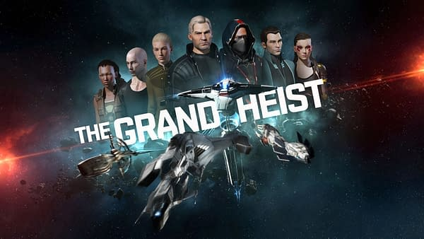 How well do you think you'll be able to do in The Grand Heist in EVE Online? Courtesy of CCP Games.