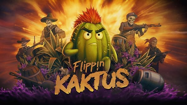 Yeah he's a living angry cactus? What of it?!? Courtesy of No Gravity Games.