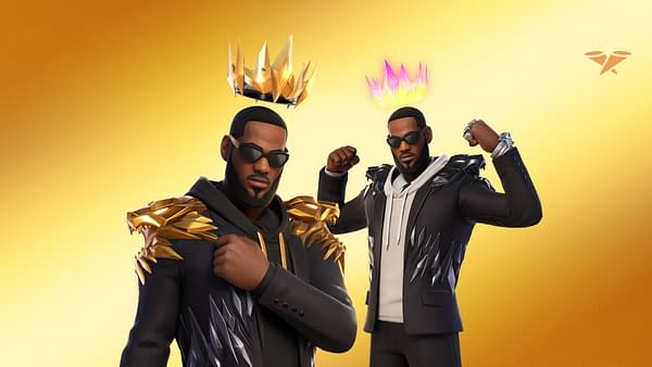 A look at The King as he appears in Fortnite, courtesy of Epic Games.