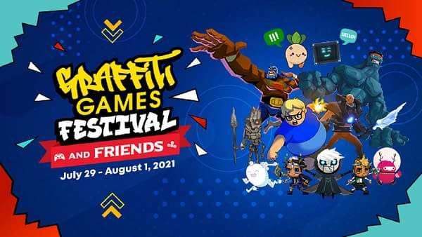 The festival will kick off on July 29th and run for four days straight. Courtesy of Graffiti Games.